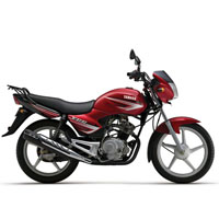 Yamaha YBR Different Colour View 2