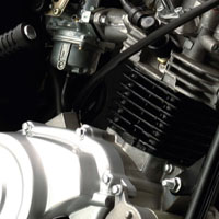 Yamaha YBR Engine View