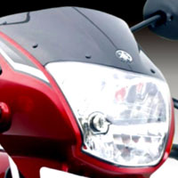 Yamaha YBR Head Light View