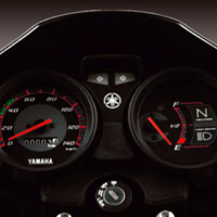 Yamaha YBR Speedometer View