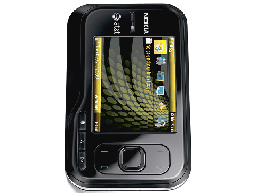 Nokia 6760 slide Front View Picture