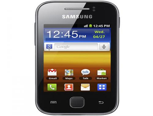 Samsung Galaxy Y Front View Picture