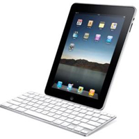 Apple iPad 16GB WiFi 3G Keyboard View