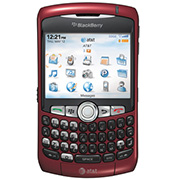 Blackberry Curve 8320 Front View