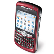 Blackberry Curve 8320 Left Side View