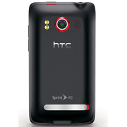 HTC EVO 4G Back View