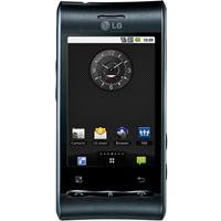 LG Optimus 3D Front View
