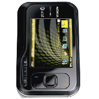Nokia 6760 slide Front View