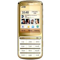 Nokia C3 01 Gold Edition Front View