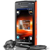 Sony Ericsson W8 Side Angle View