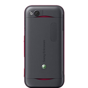 Sony Ericsson Yari Back View